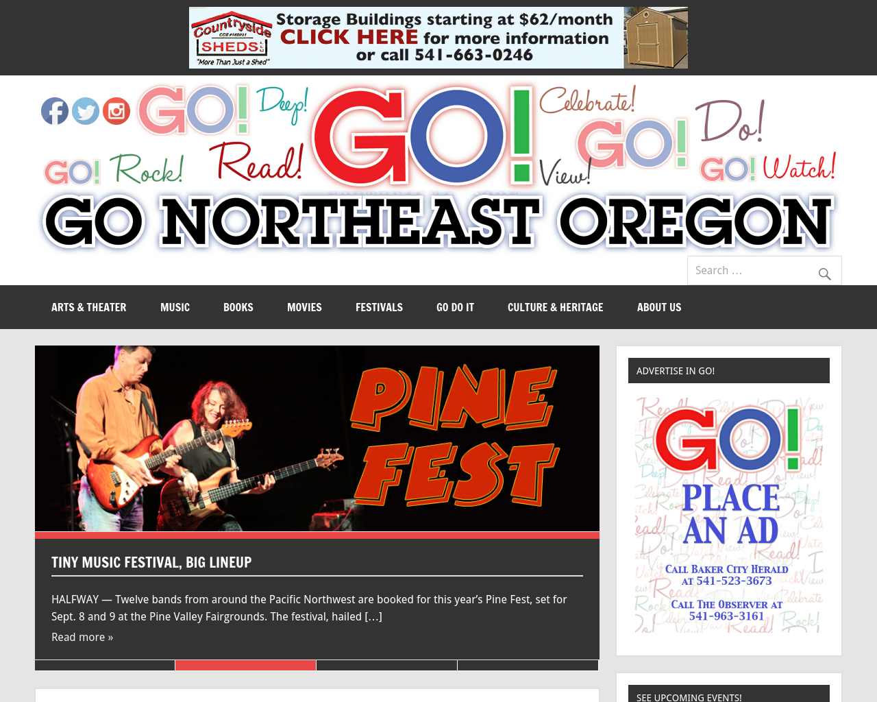 Go!-Eastern-Oregon-Entertainment-And-Activities-Advertising-Reviews-Pricing