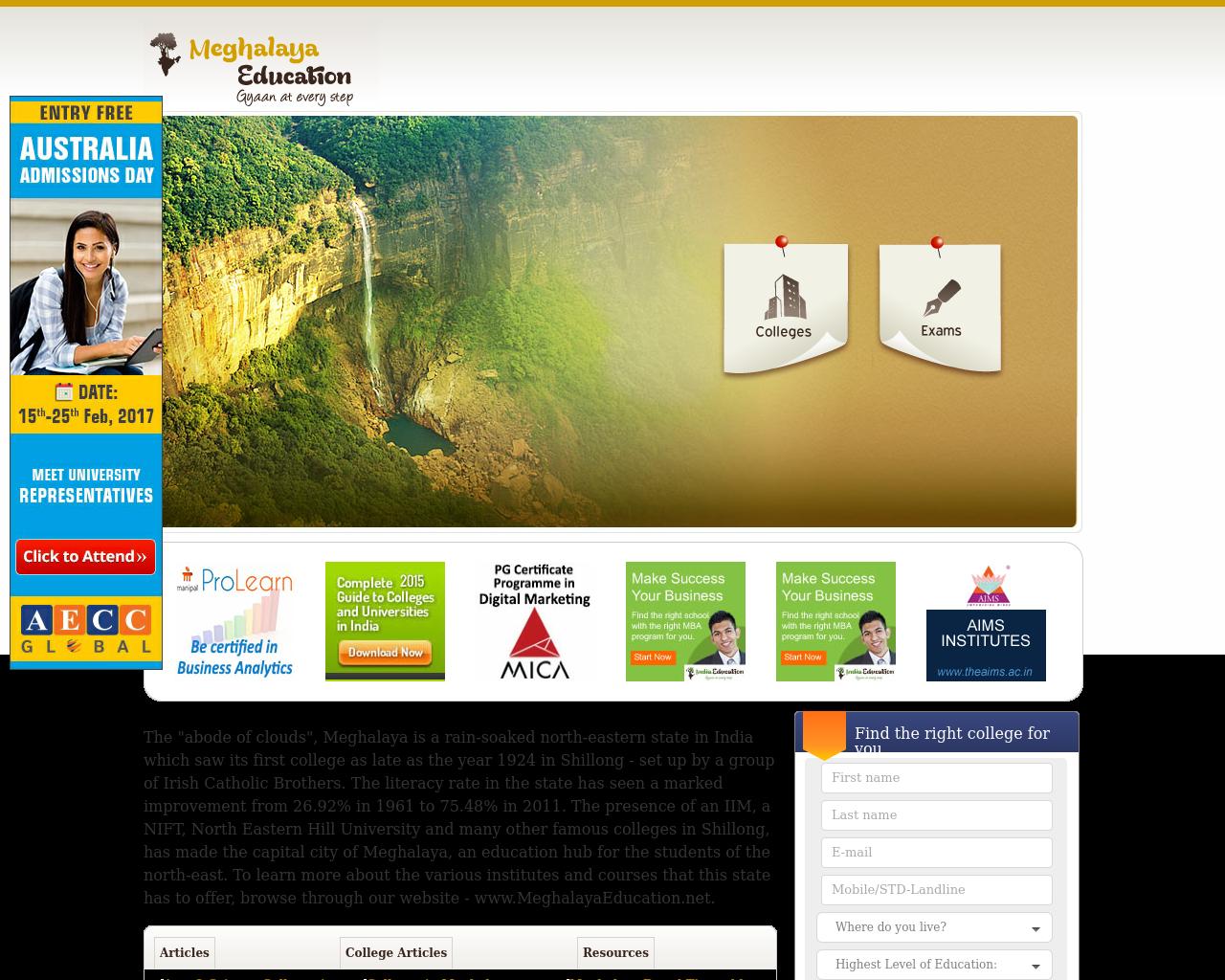 Meghalaya-Education-Advertising-Reviews-Pricing