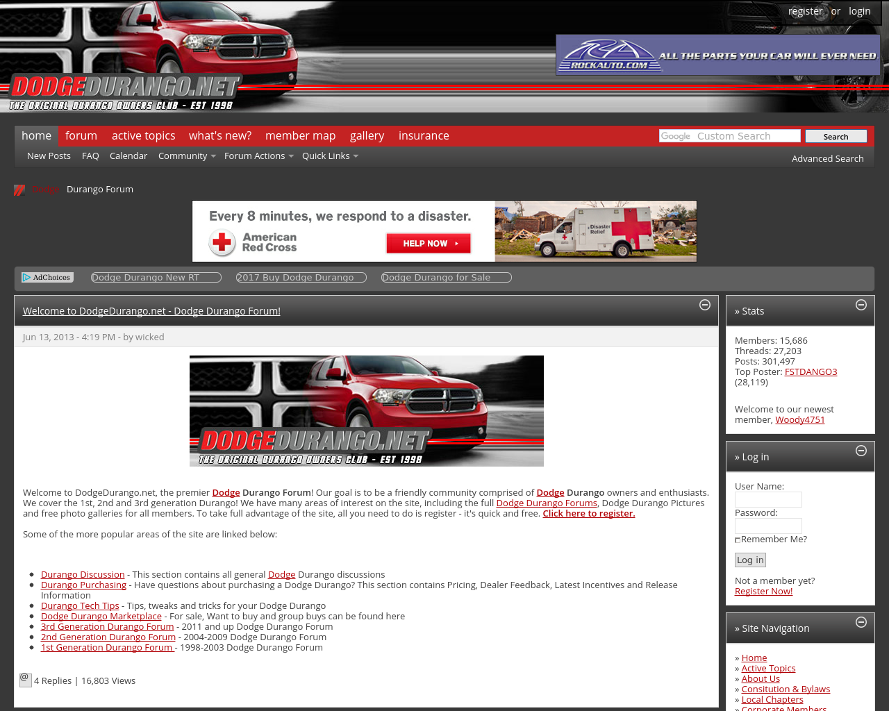 DODGEDURANGO.NET-Advertising-Reviews-Pricing