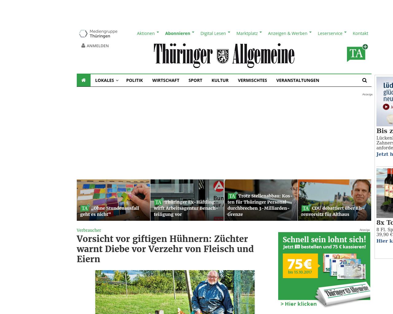 Thüringer-Allgemeine-Advertising-Reviews-Pricing