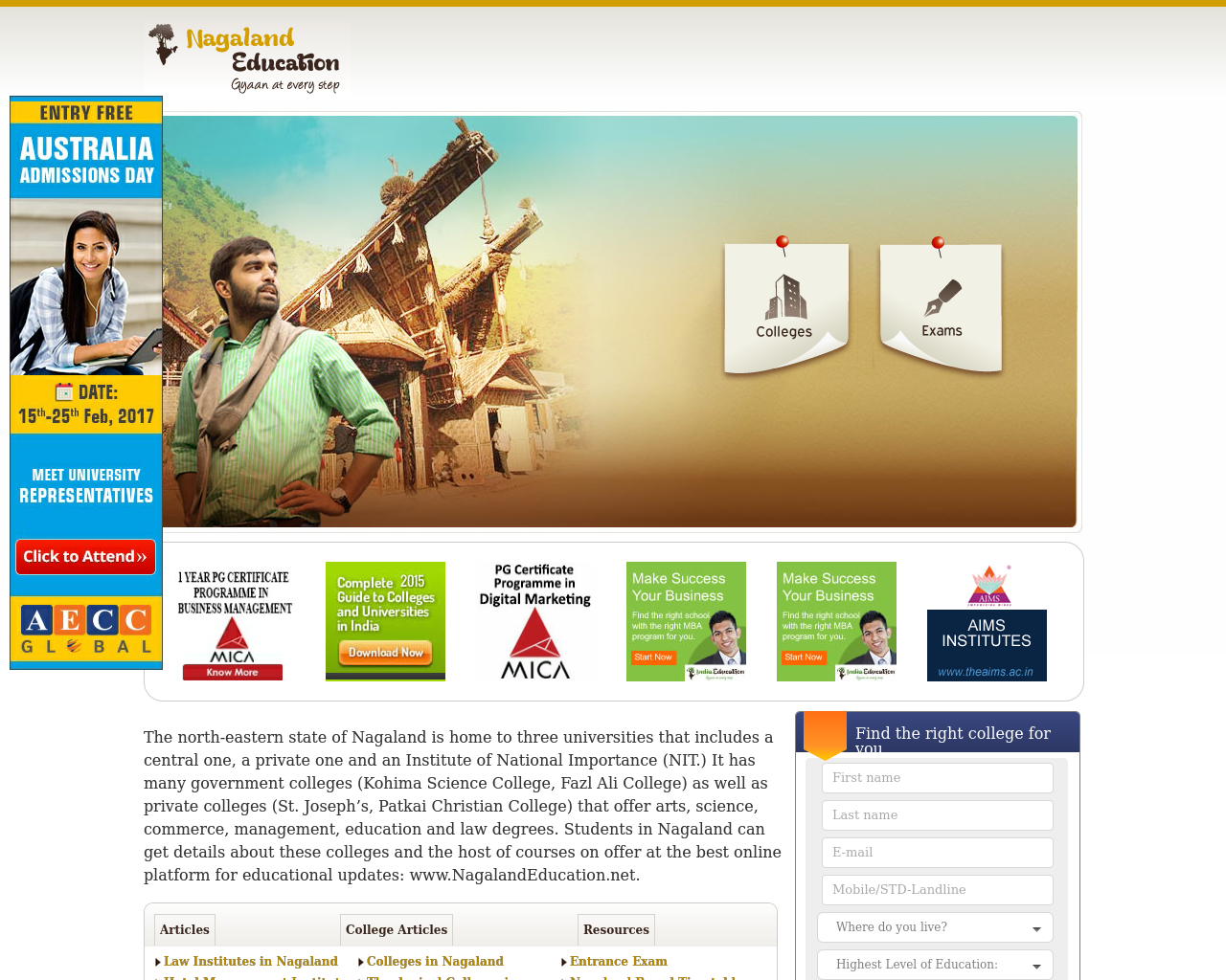 Nagaland-Education-Advertising-Reviews-Pricing