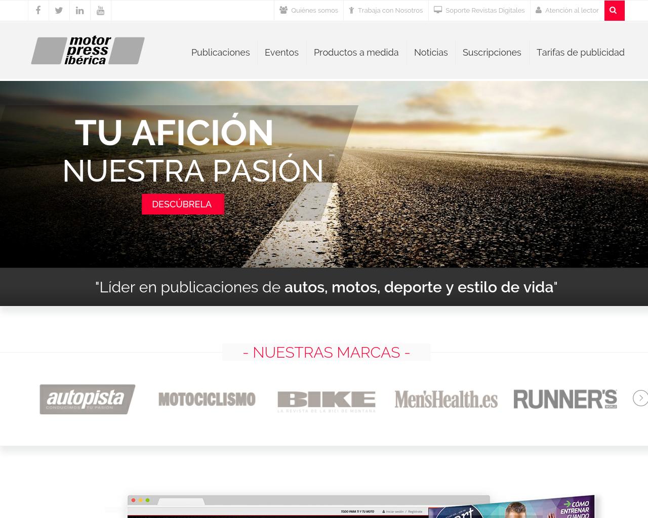 Motorpress-Ibérica-Advertising-Reviews-Pricing