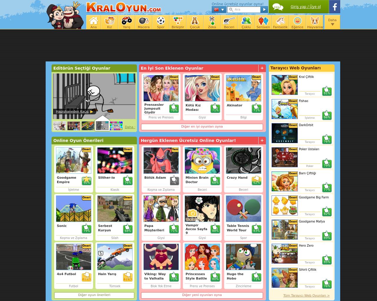 Kraloyuncom Advertising Mediakits Reviews Pricing Traffic Rate