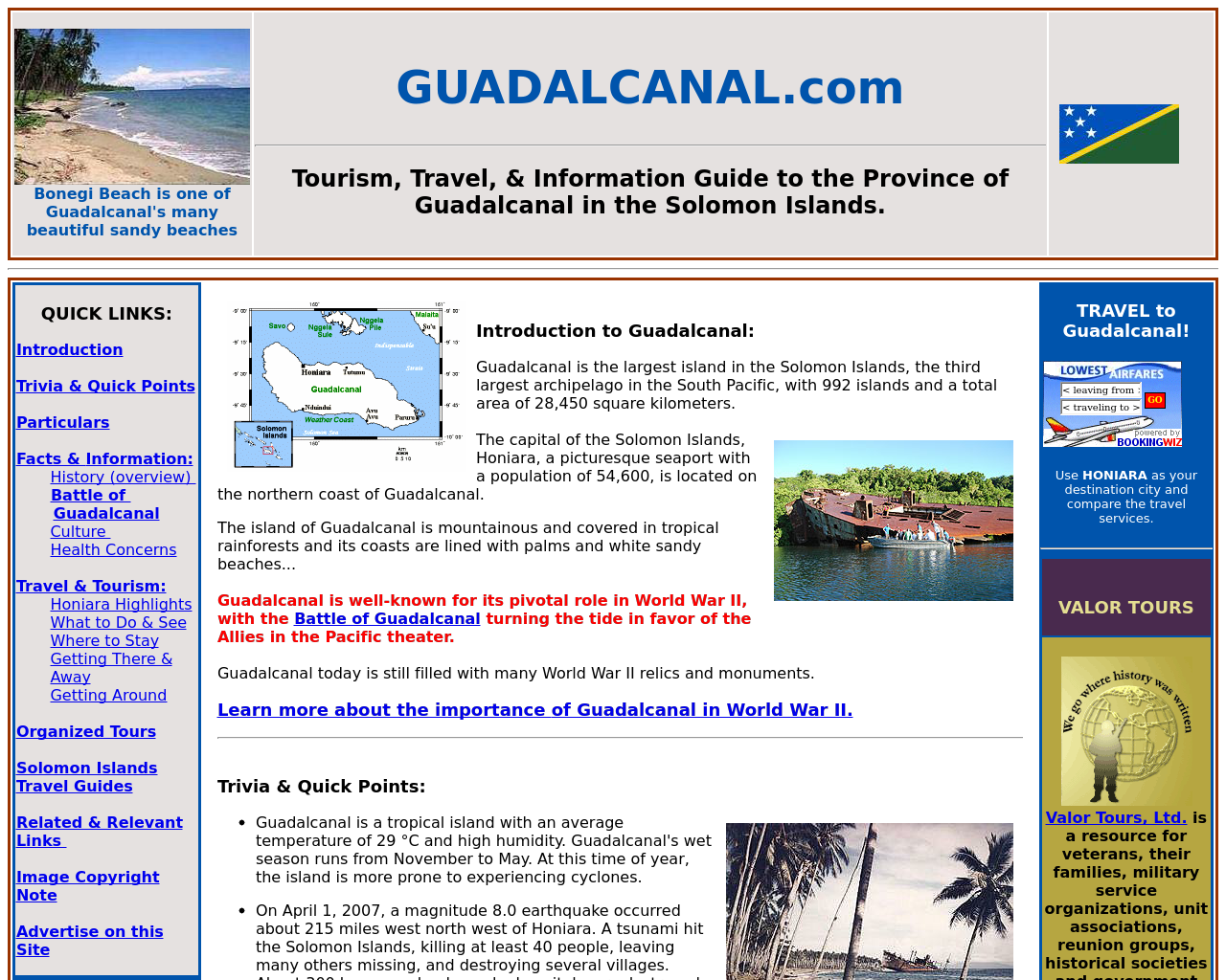 Guadalcanal.com-Advertising-Reviews-Pricing