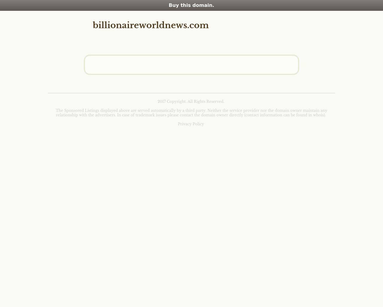 Billionaire-World-News-Advertising-Reviews-Pricing