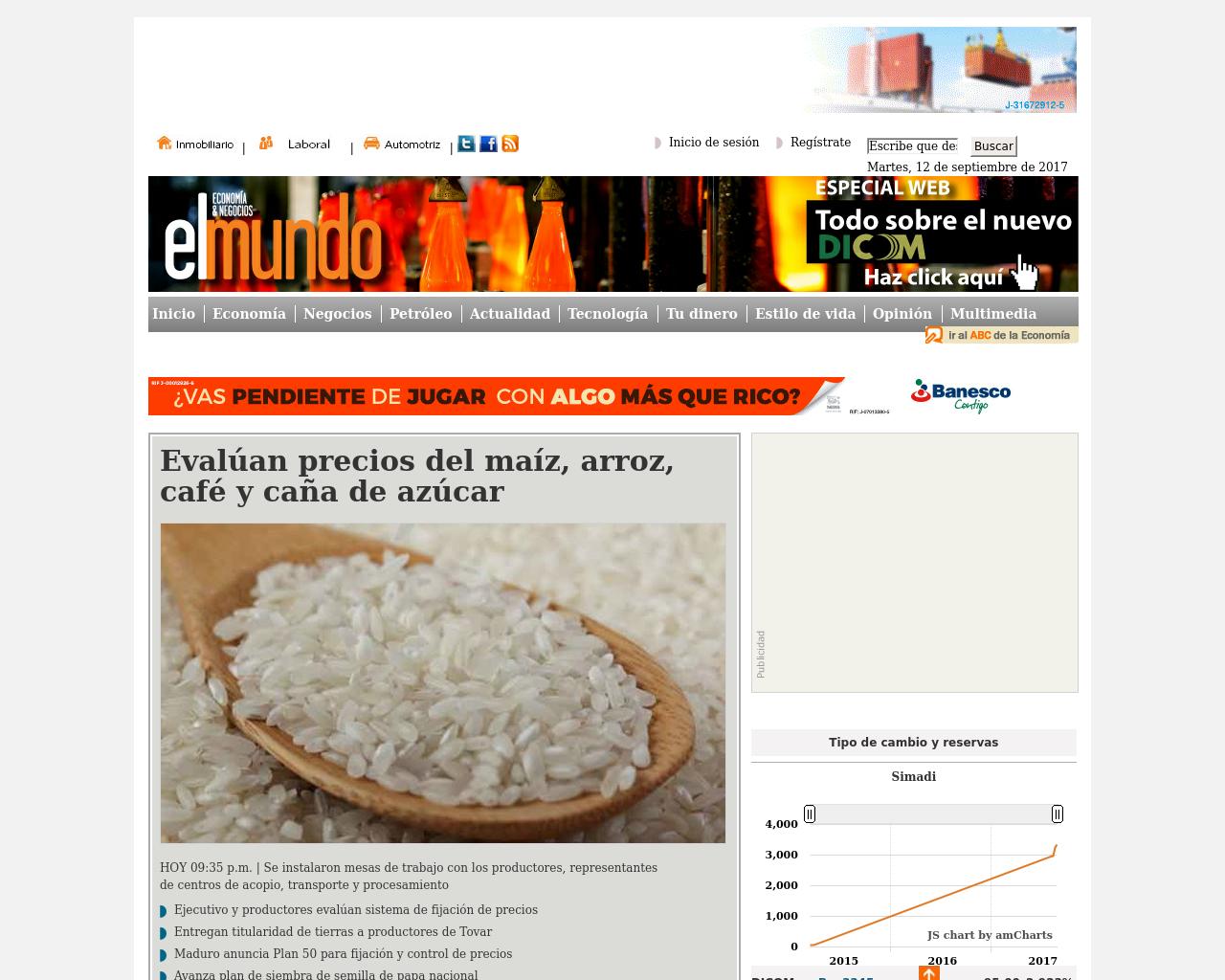 El-Mundo-Economia-&-Negocios-Advertising-Reviews-Pricing