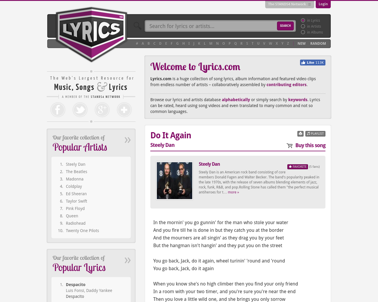 Lyrics-Advertising-Reviews-Pricing