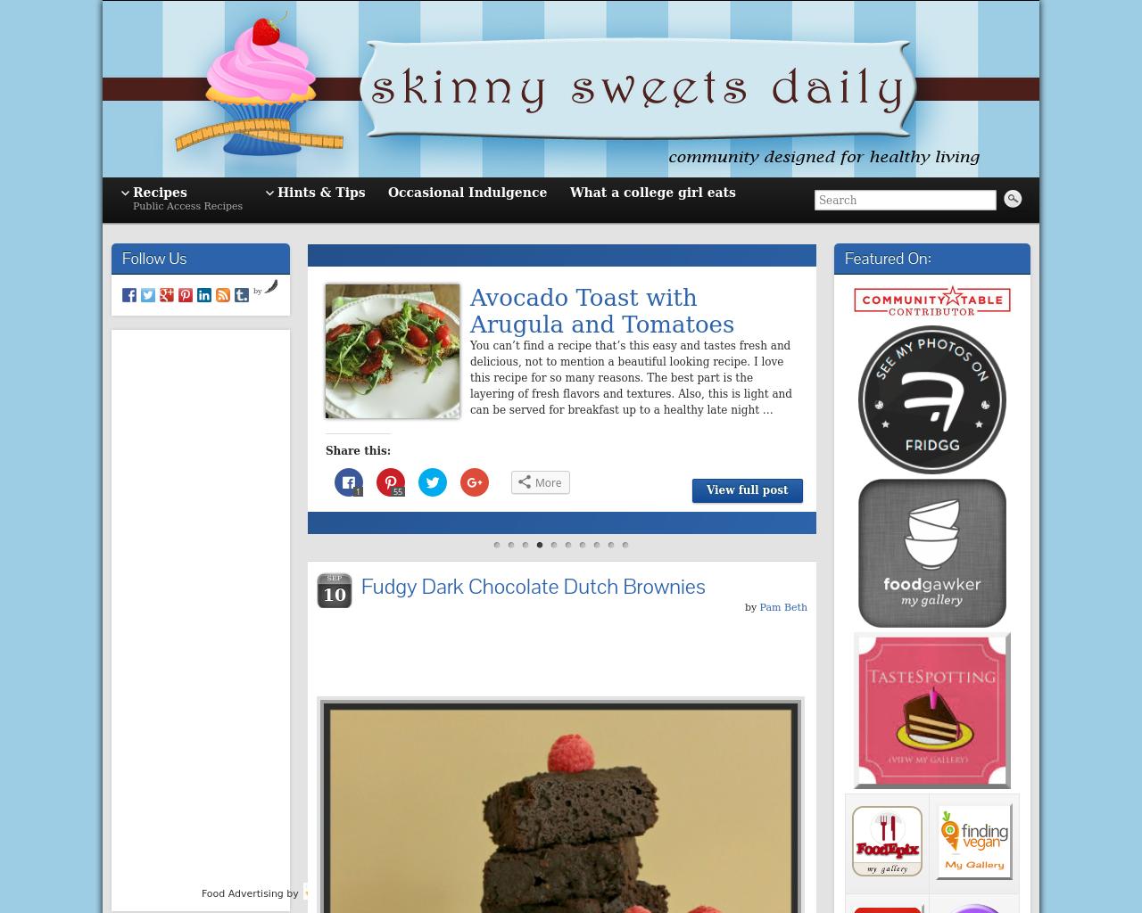Skinnysweetsdaily.com-Advertising-Reviews-Pricing