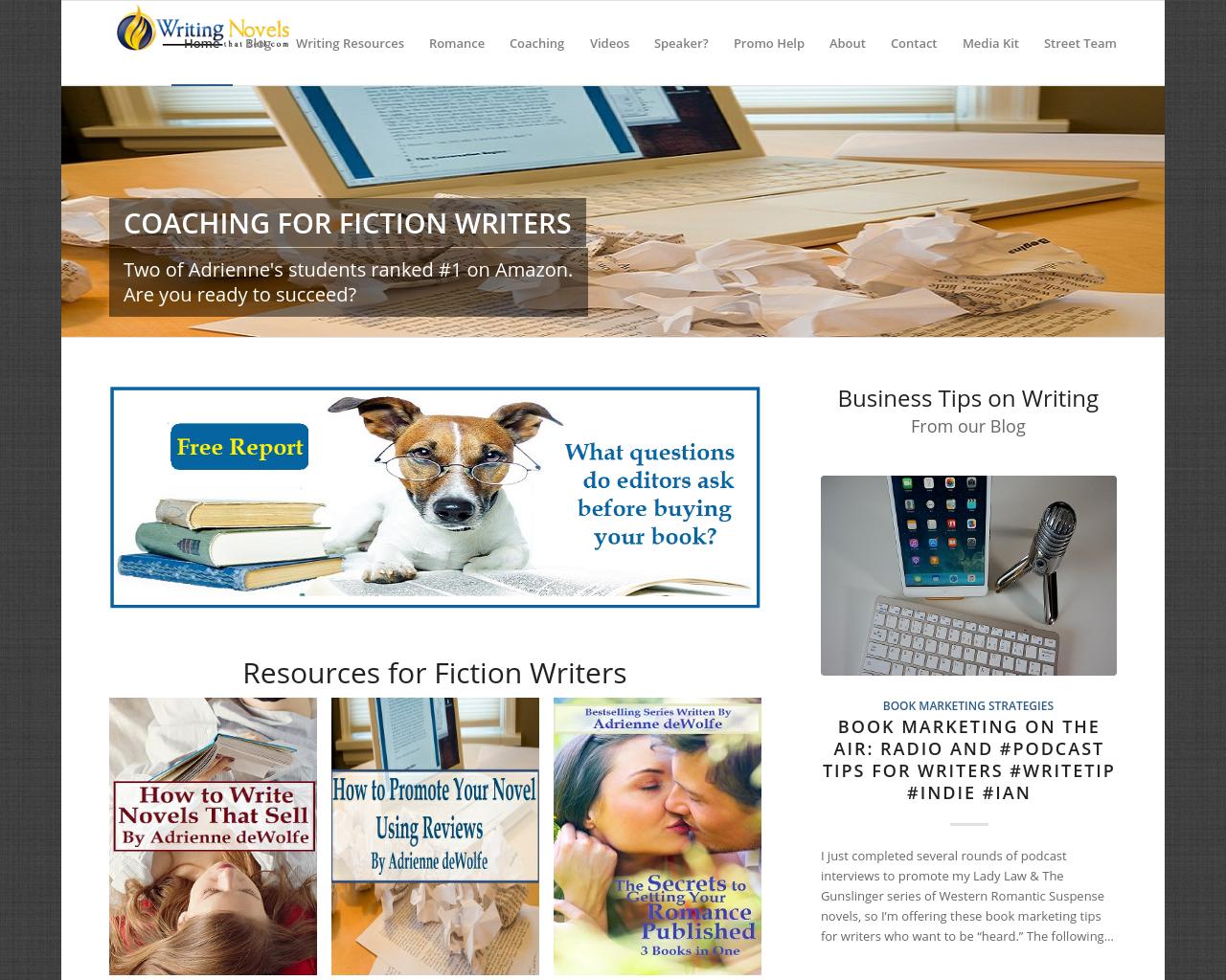 WritingNovelsthatSell.com-Advertising-Reviews-Pricing