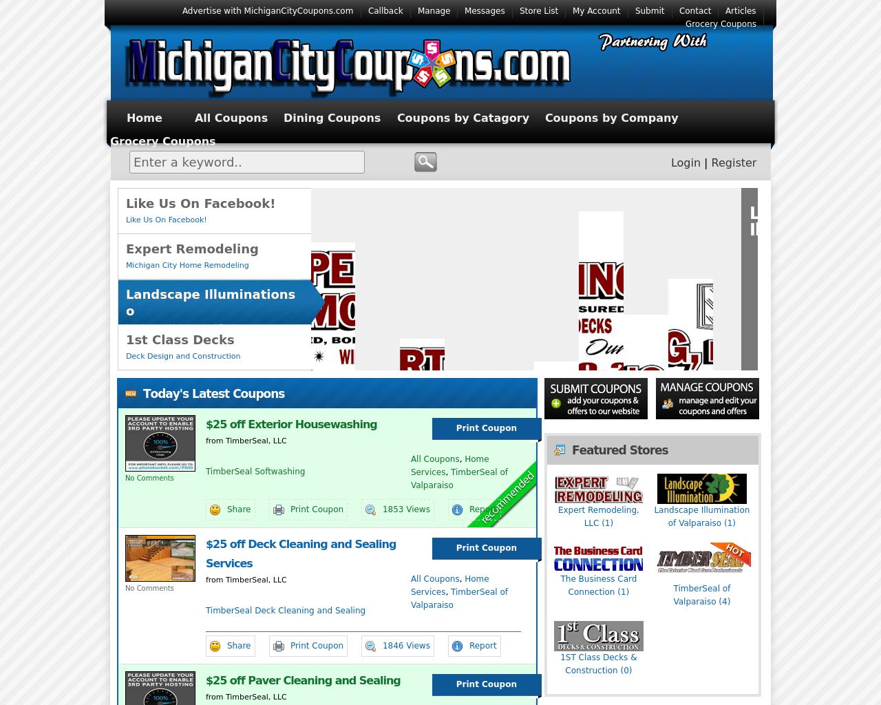 MichiganCityCoupons.com-Advertising-Reviews-Pricing