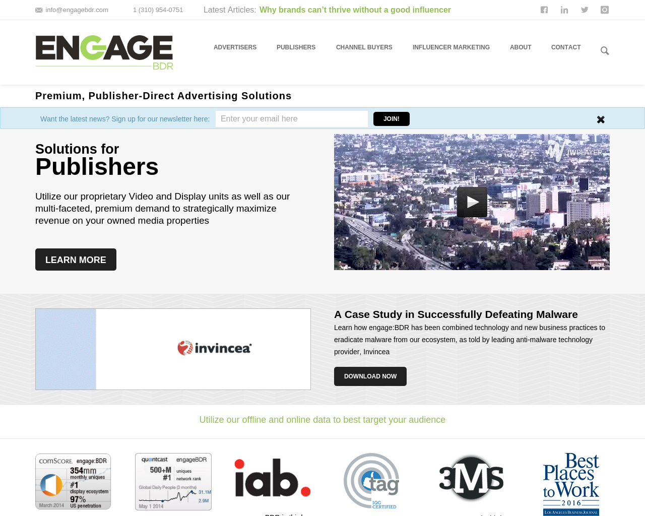engage:BDR-Advertising-Reviews-Pricing