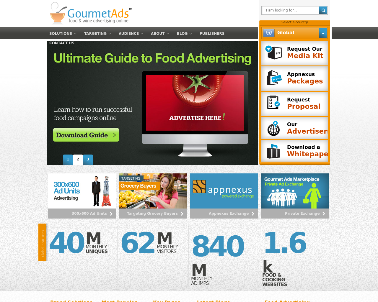 Gourmet-Ads-Advertising-Reviews-Pricing
