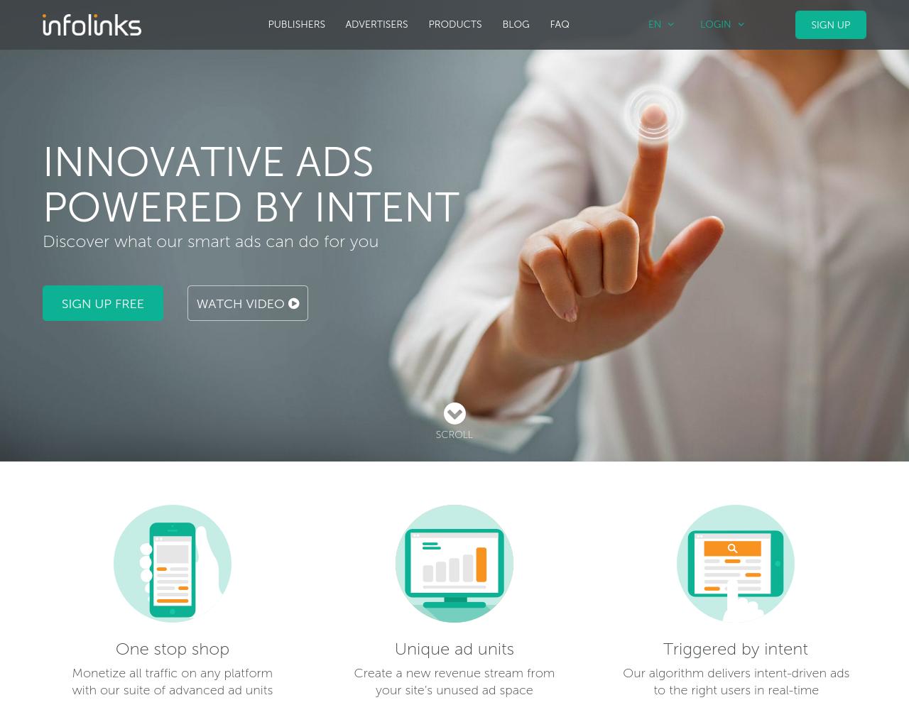 Infolinks-Advertising-Reviews-Pricing