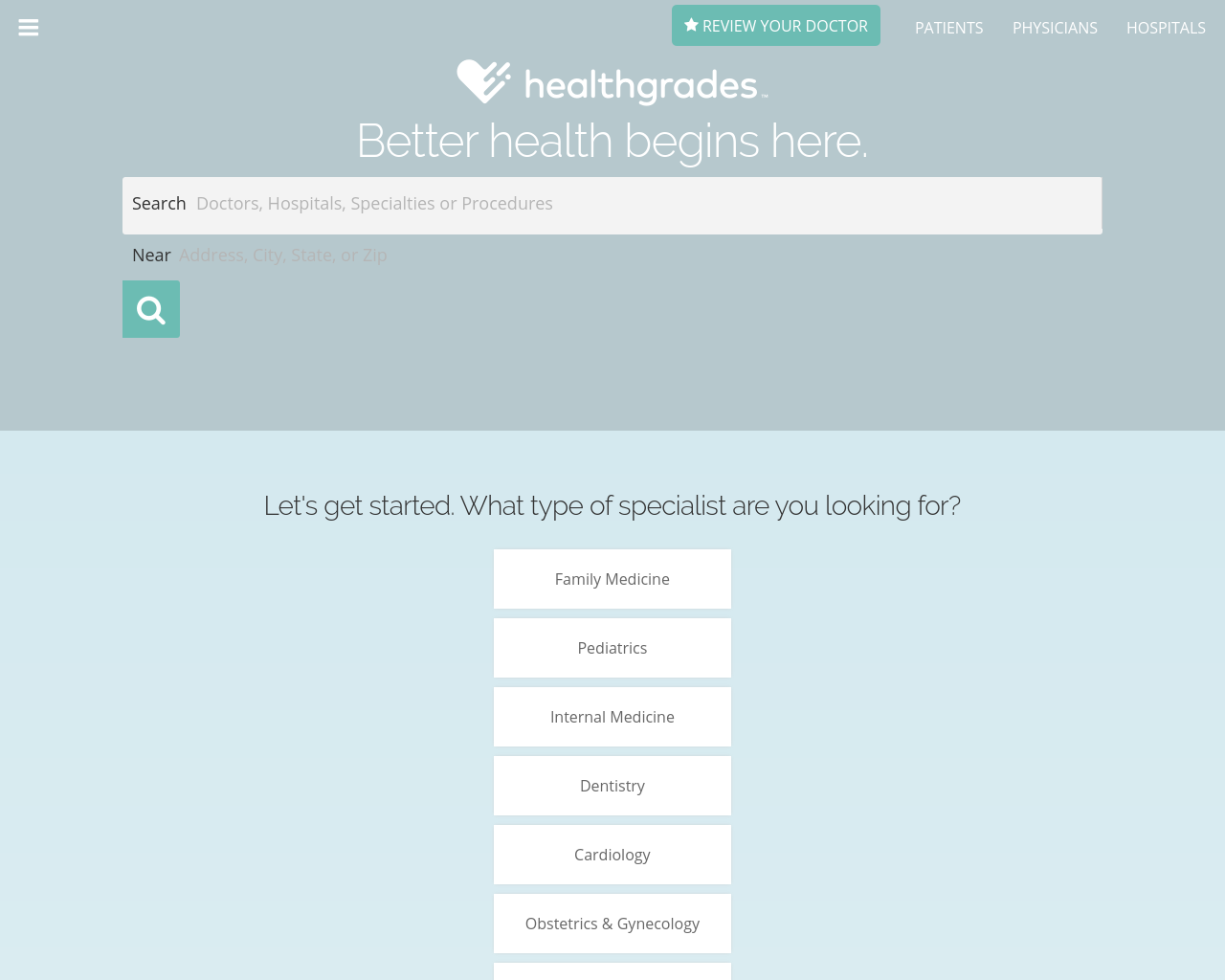 HealthGrades-Advertising-Reviews-Pricing