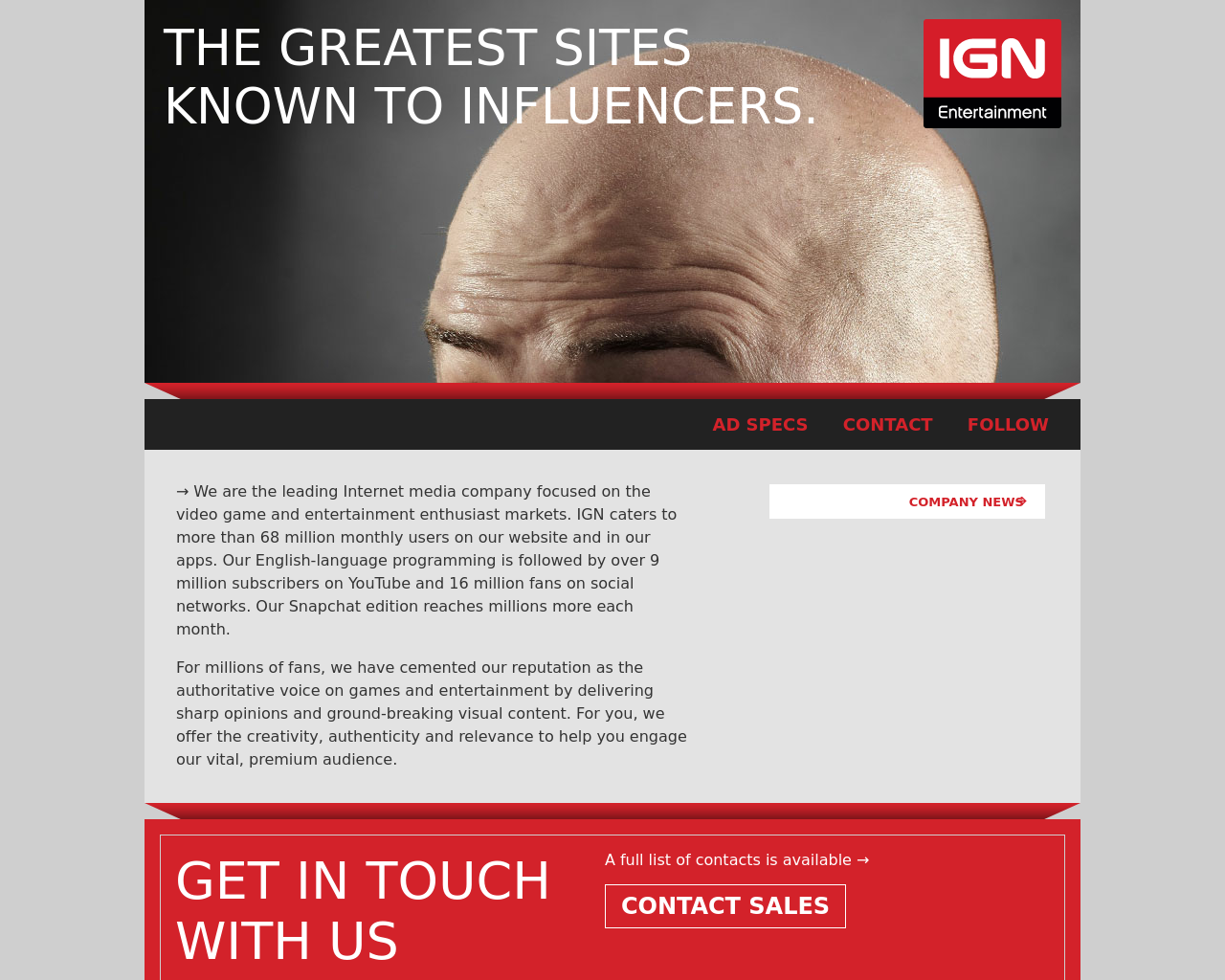 IGN-Entertainment-Advertising-Reviews-Pricing