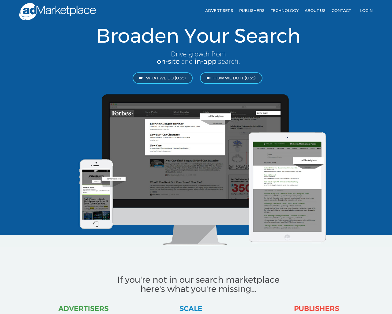adMarketplace-Advertising-Reviews-Pricing