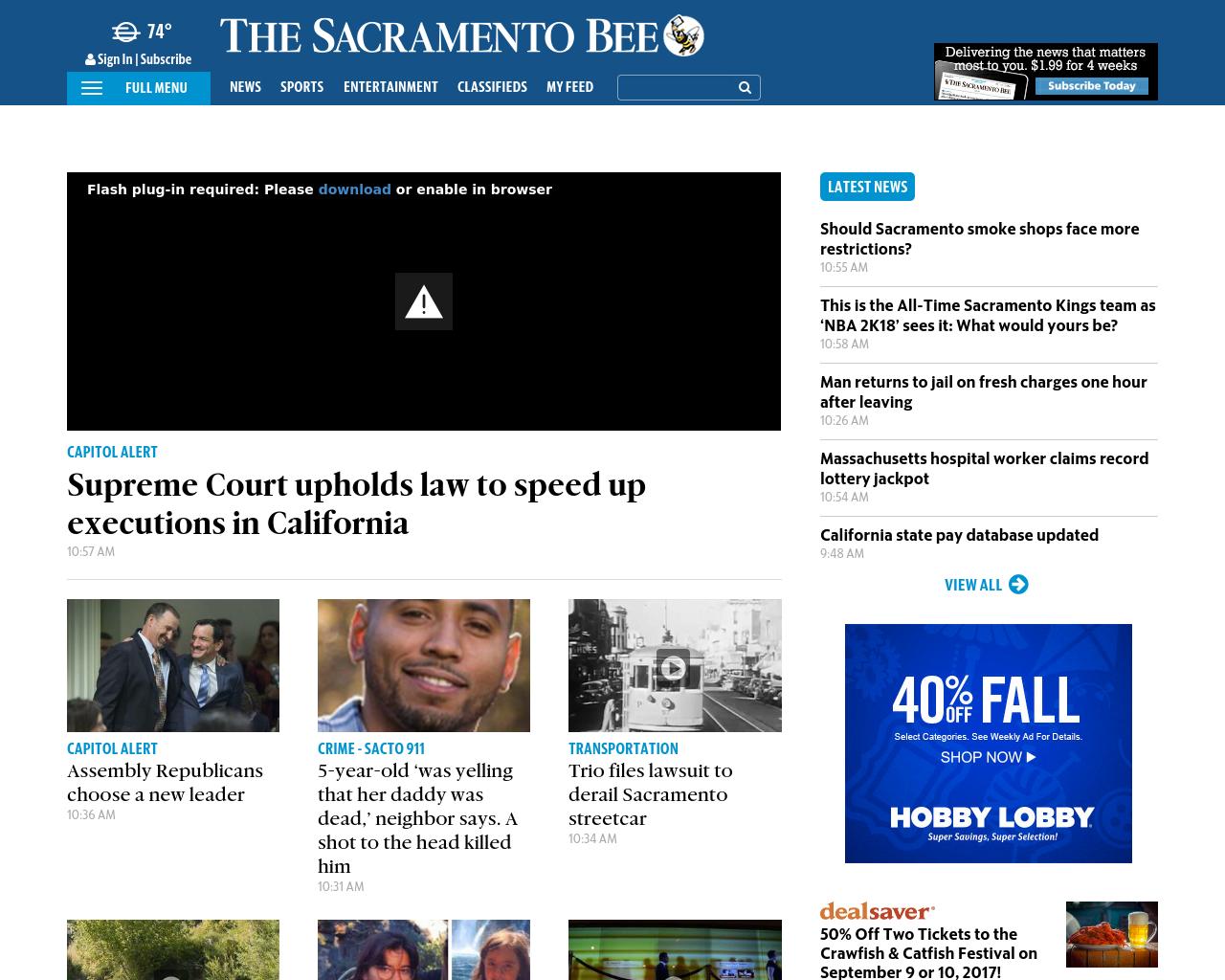 Sacramento-Bee-Advertising-Reviews-Pricing