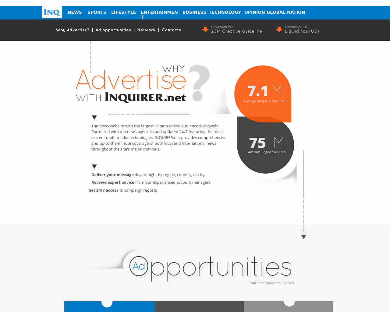 INQUIRER.net-Advertising-Reviews-Pricing