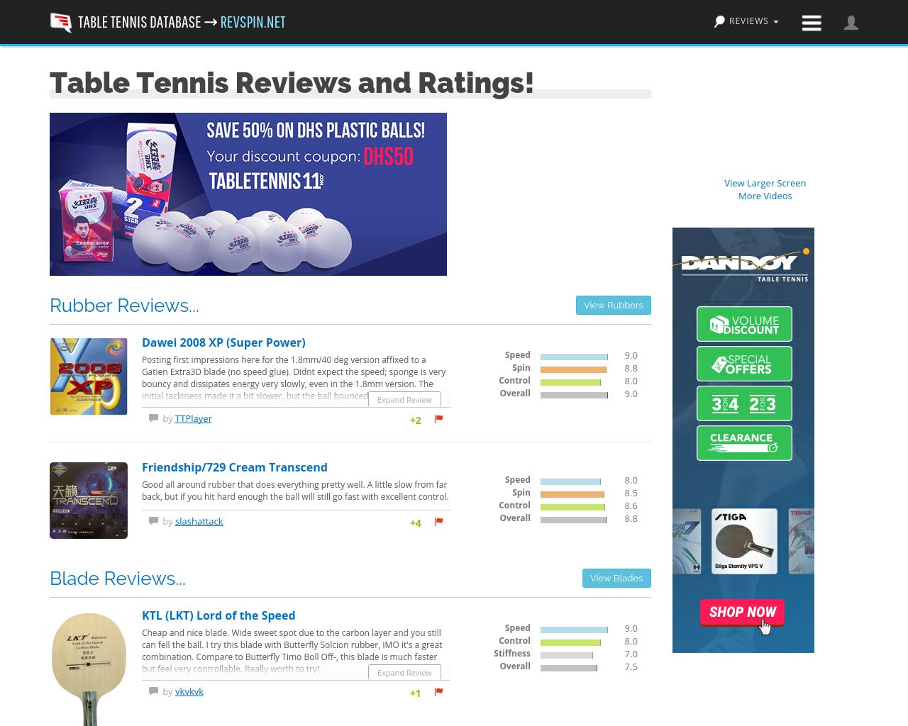 Table-Tennis-DB-Advertising-Reviews-Pricing