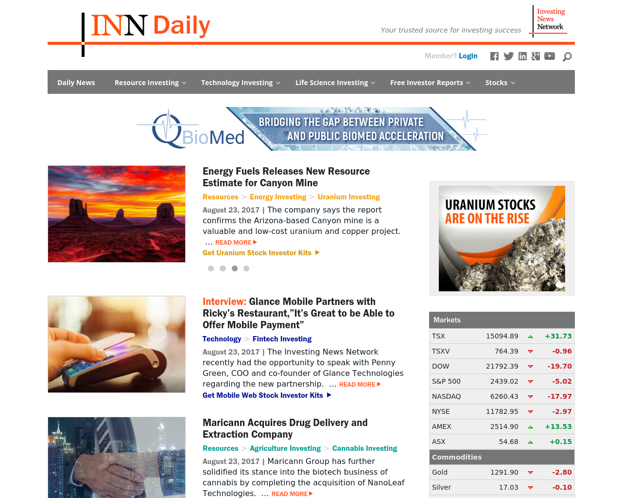 Investing-News-Network-Advertising-Reviews-Pricing