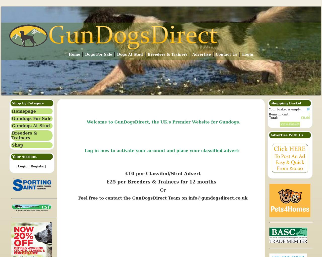 Gun-Dogs-Direct-Advertising-Reviews-Pricing