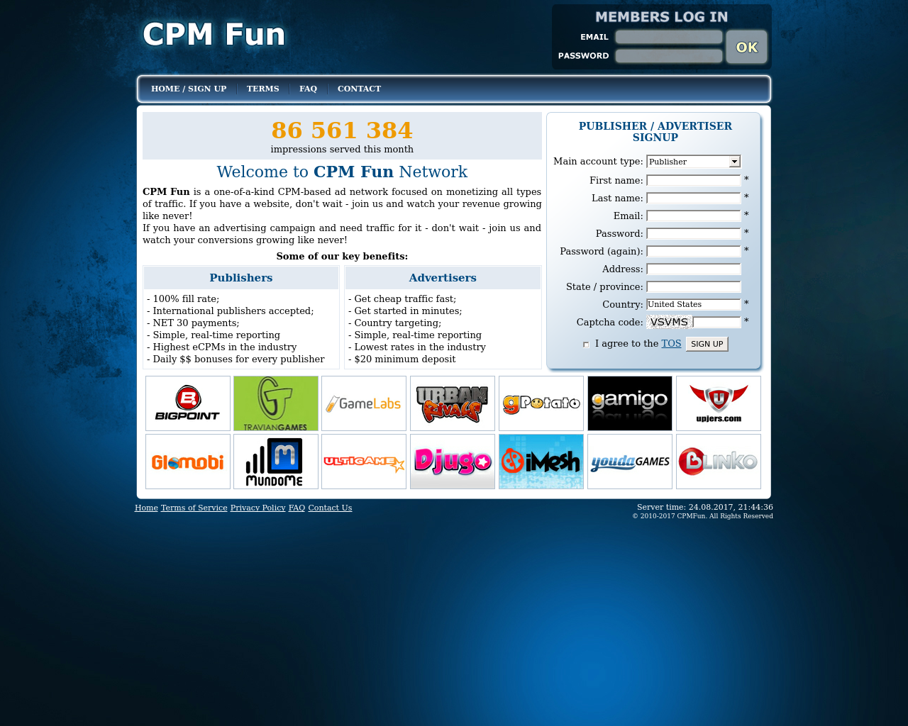 CPMFun-Advertising-Reviews-Pricing