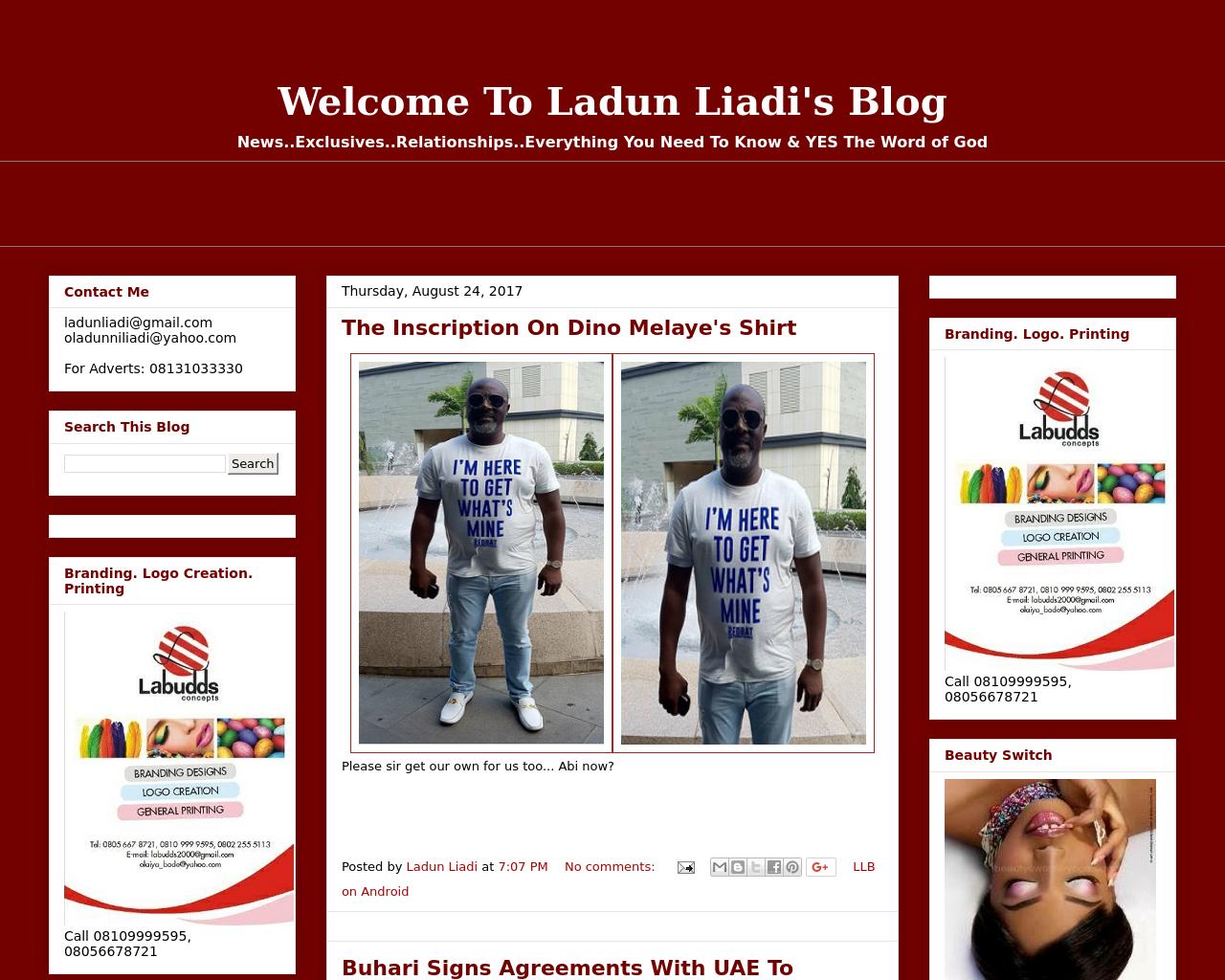 Ladun-Liadi's-Blog-Advertising-Reviews-Pricing