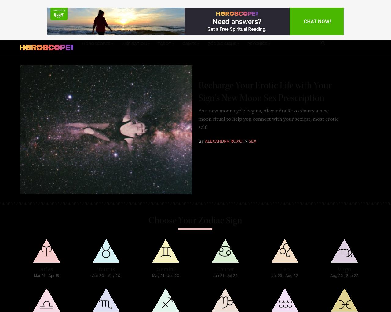 Horoscope.com-Advertising-Reviews-Pricing