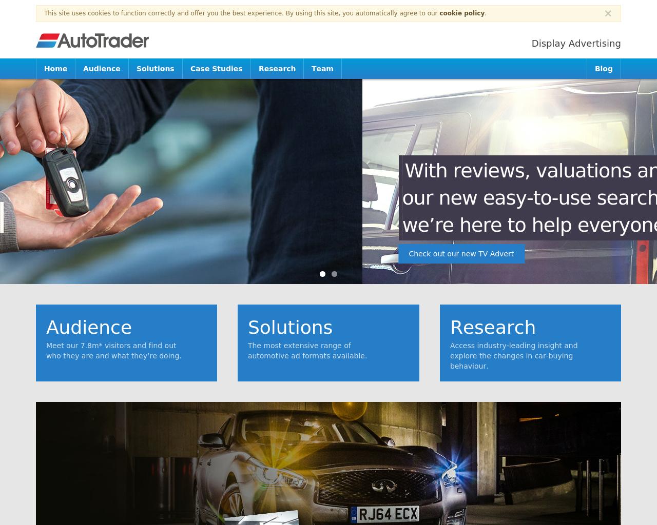 AutoTrader UK Advertising Mediakits, Reviews, Pricing, Traffic, Rate ...