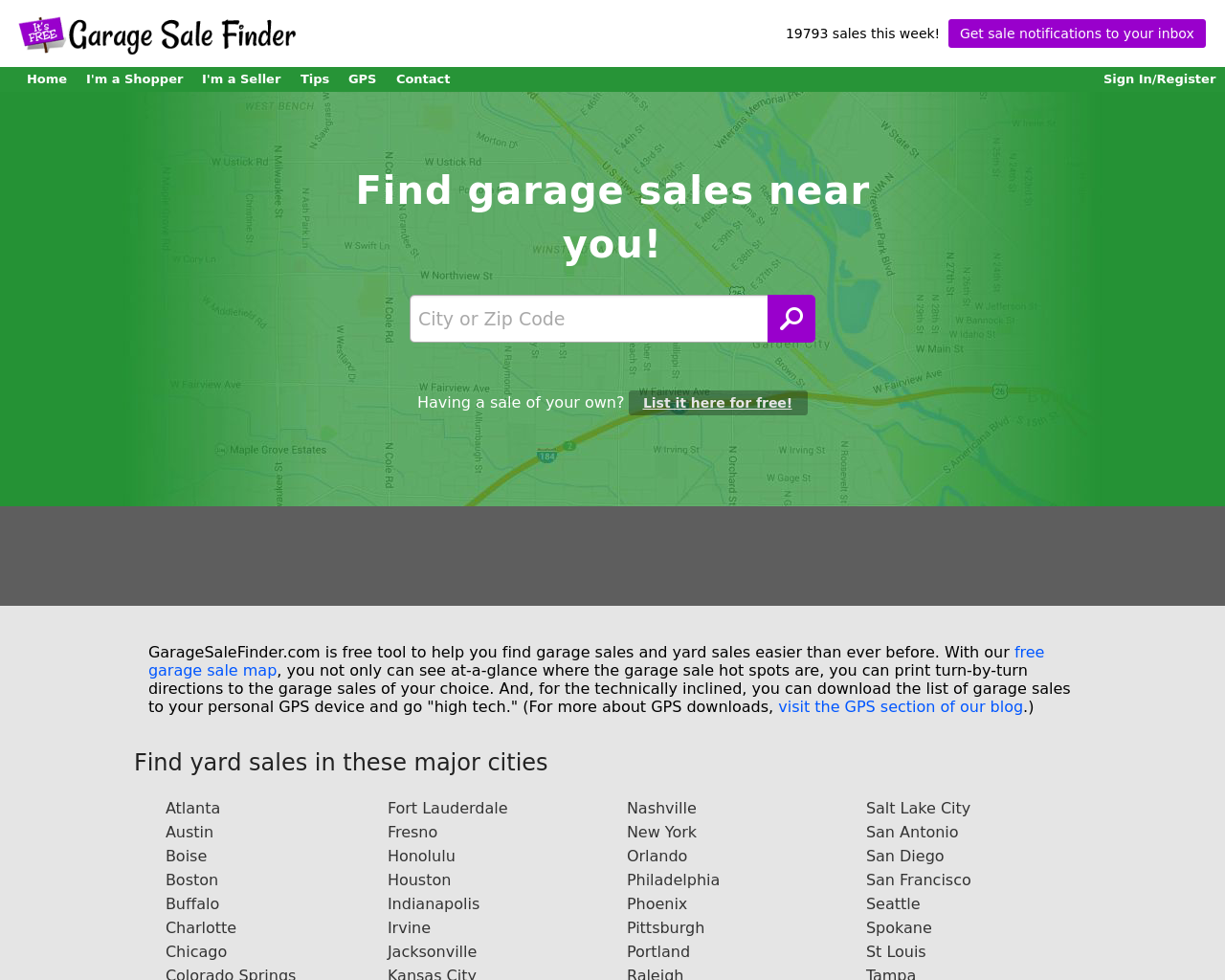 Garagesalefinder.com-Advertising-Reviews-Pricing