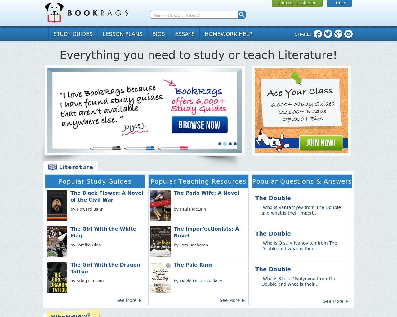 BookRags-Media-Advertising-Reviews-Pricing