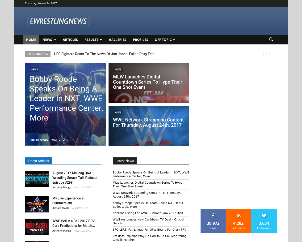 Ewrestlingnews-Advertising-Reviews-Pricing