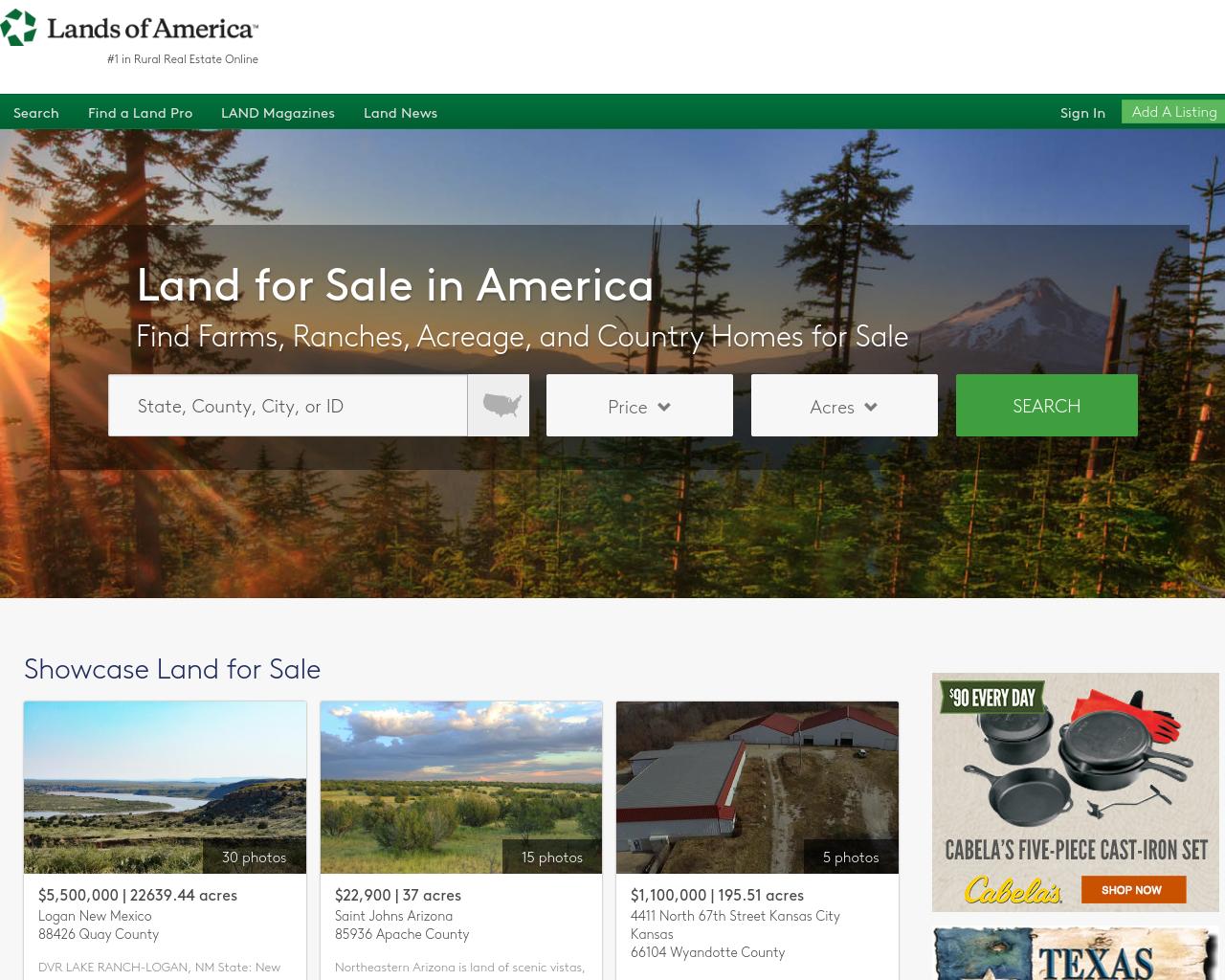 Lands-Of-America-Advertising-Reviews-Pricing