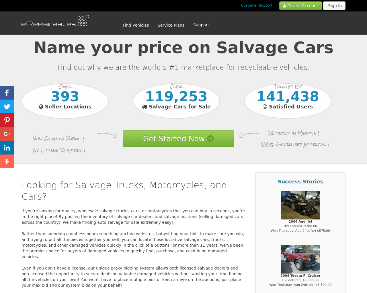 eRepairables-Advertising-Reviews-Pricing