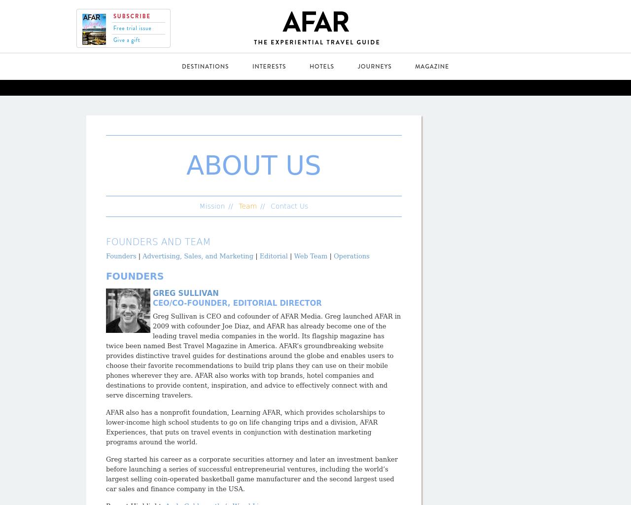 AFAR-Advertising-Reviews-Pricing
