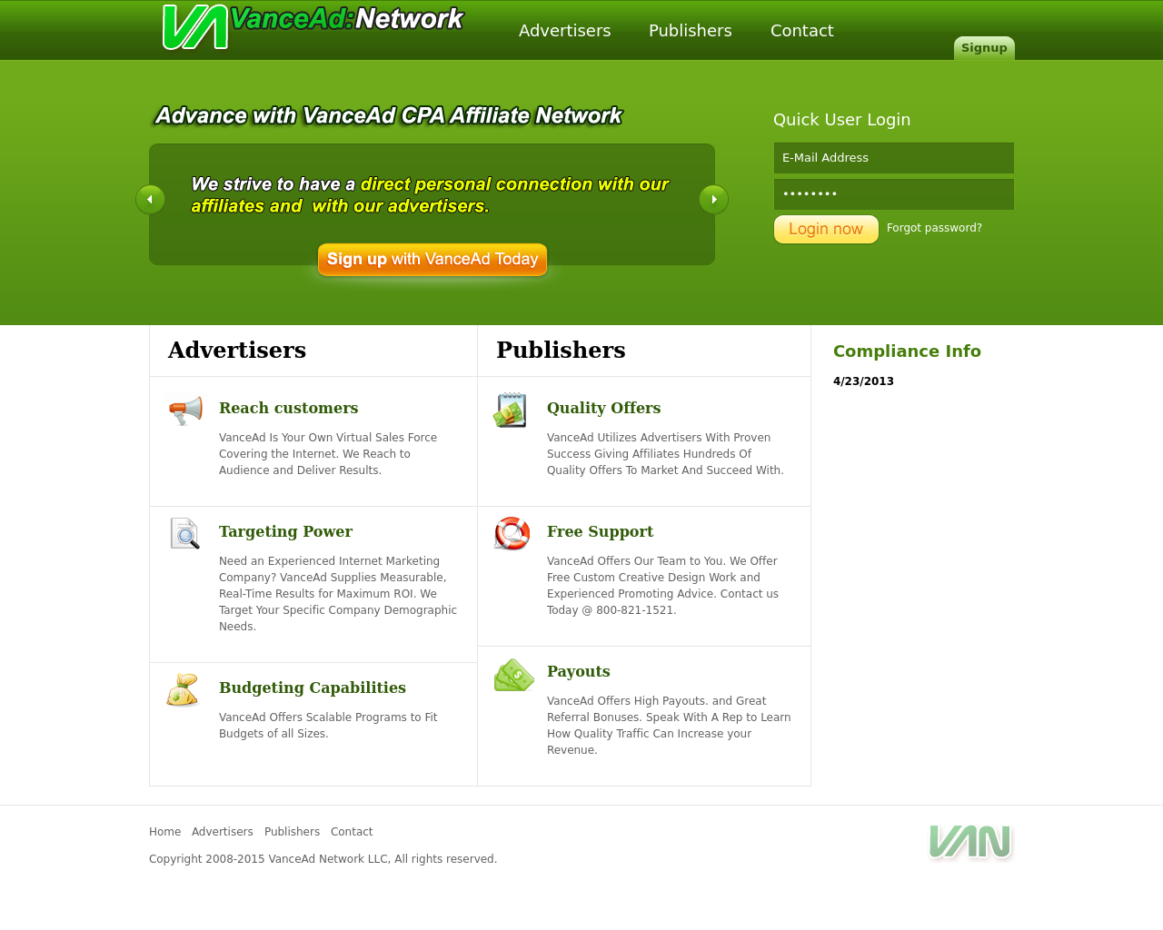 VanceAd-Advertising-Reviews-Pricing