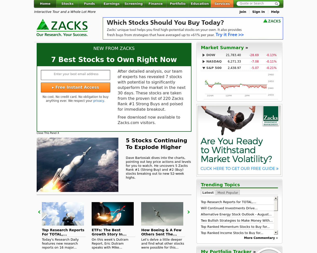 Zacks-Investment-Research-Advertising-Reviews-Pricing