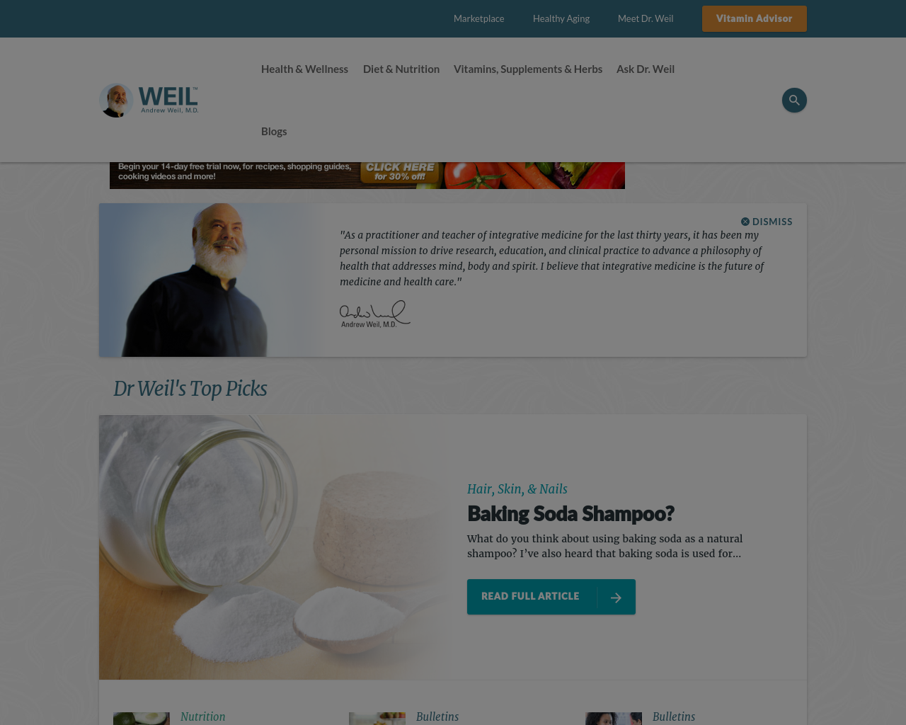 DrWeil.com-Advertising-Reviews-Pricing