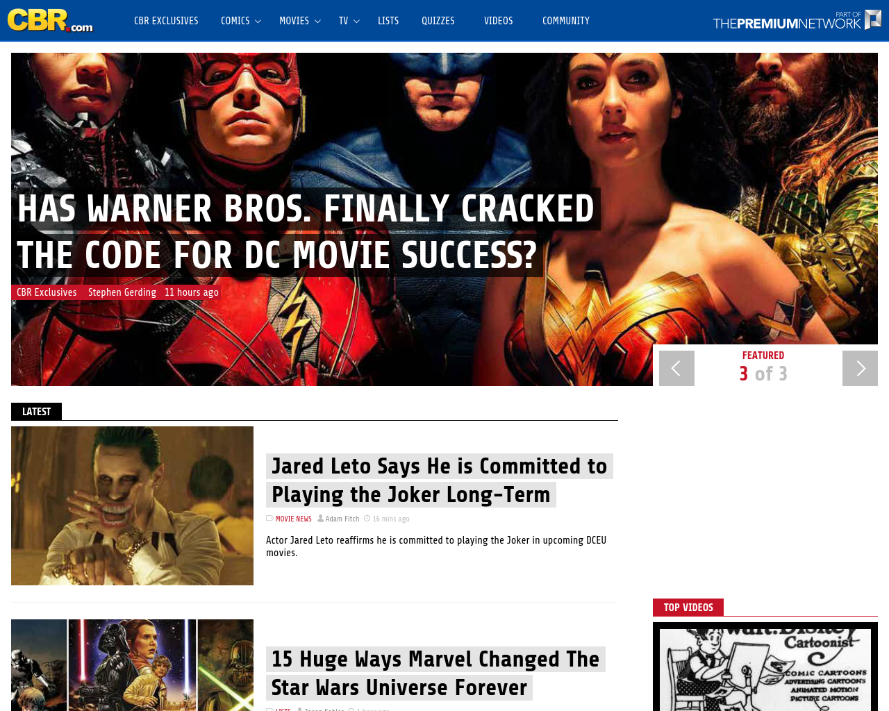 Comic-Book-Resources-Advertising-Reviews-Pricing