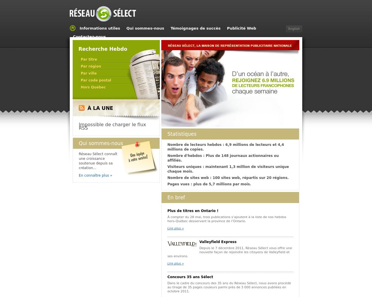 Reseau-Select-Advertising-Reviews-Pricing