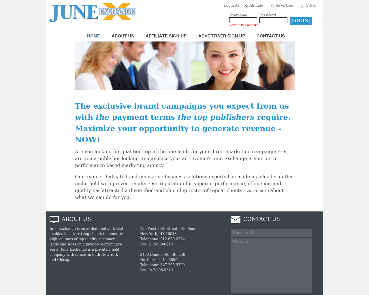 SilveriNet-/-June-Exchange-Advertising-Reviews-Pricing