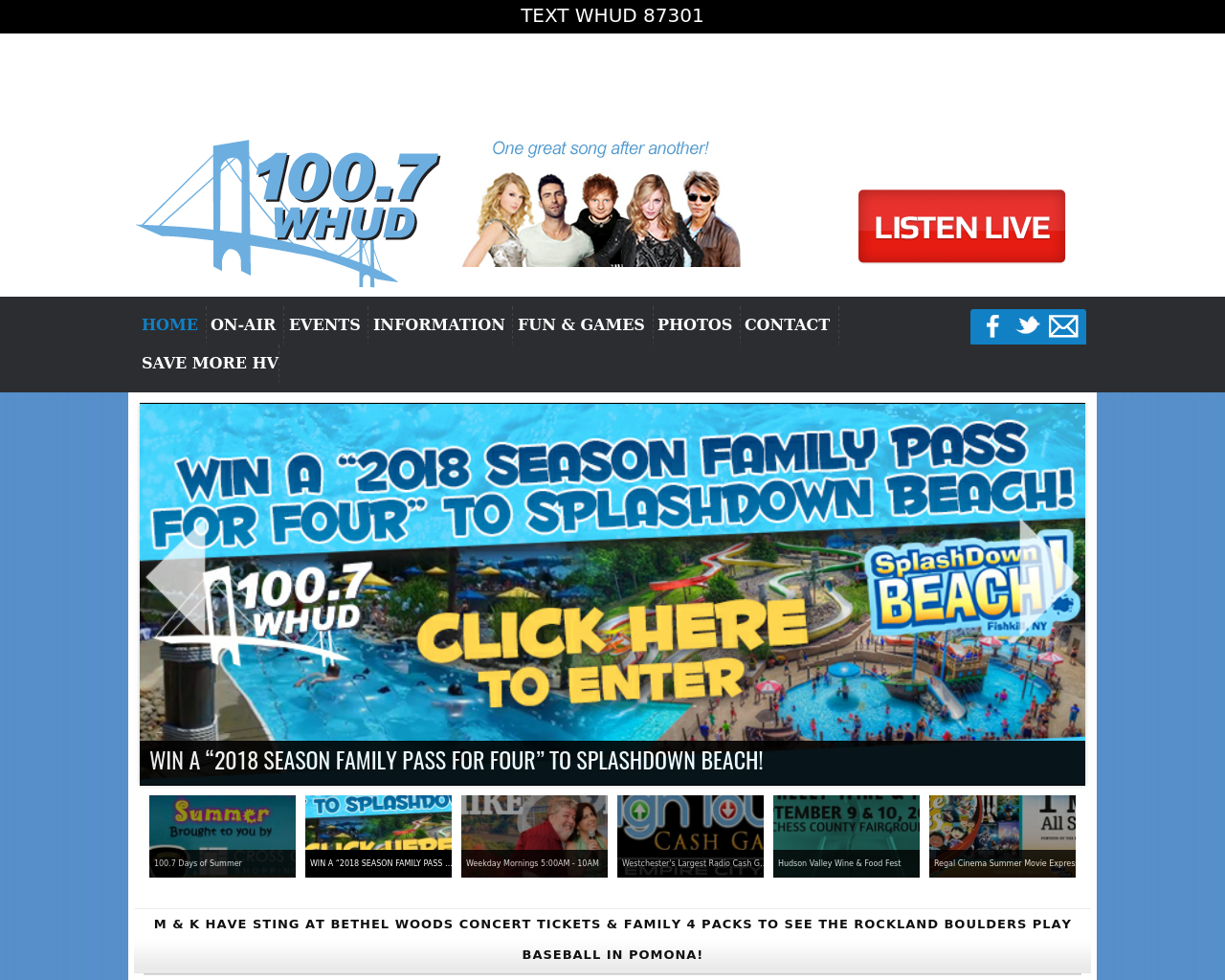 100.7-WHUD-Advertising-Reviews-Pricing