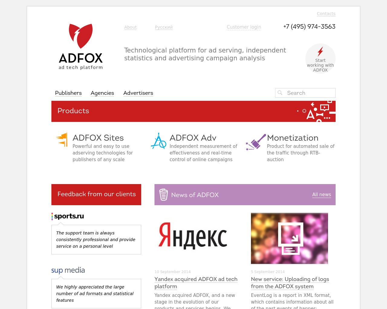 AdFox-Advertising-Reviews-Pricing