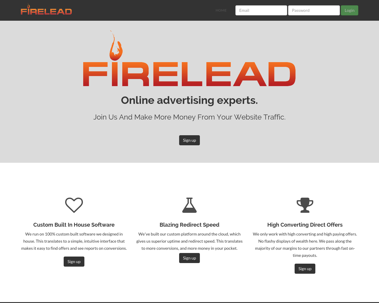 Firelead-Affiliate-Network-Advertising-Reviews-Pricing