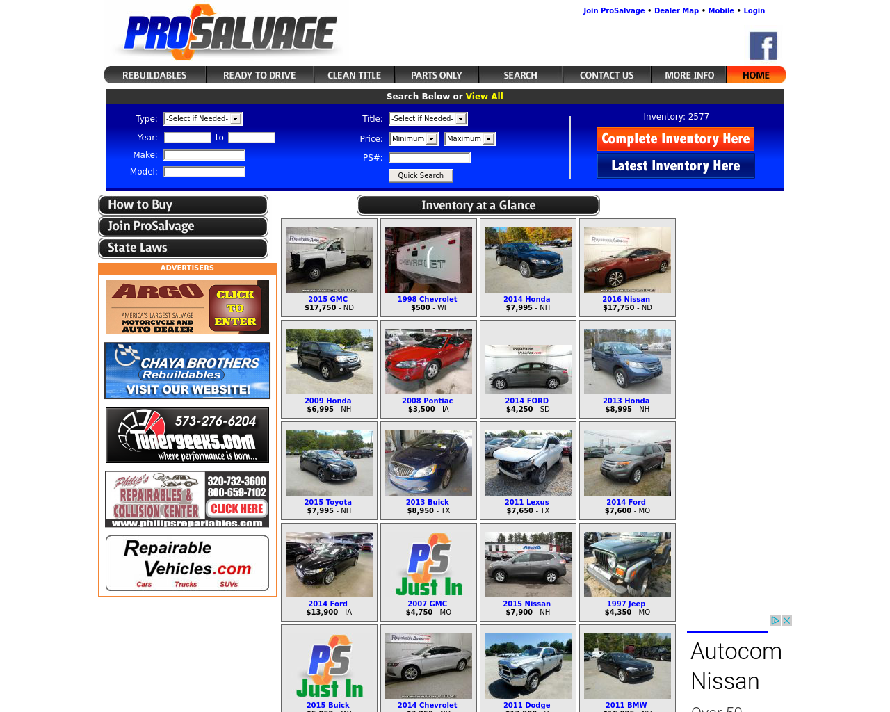 ProSalvage-Advertising-Reviews-Pricing