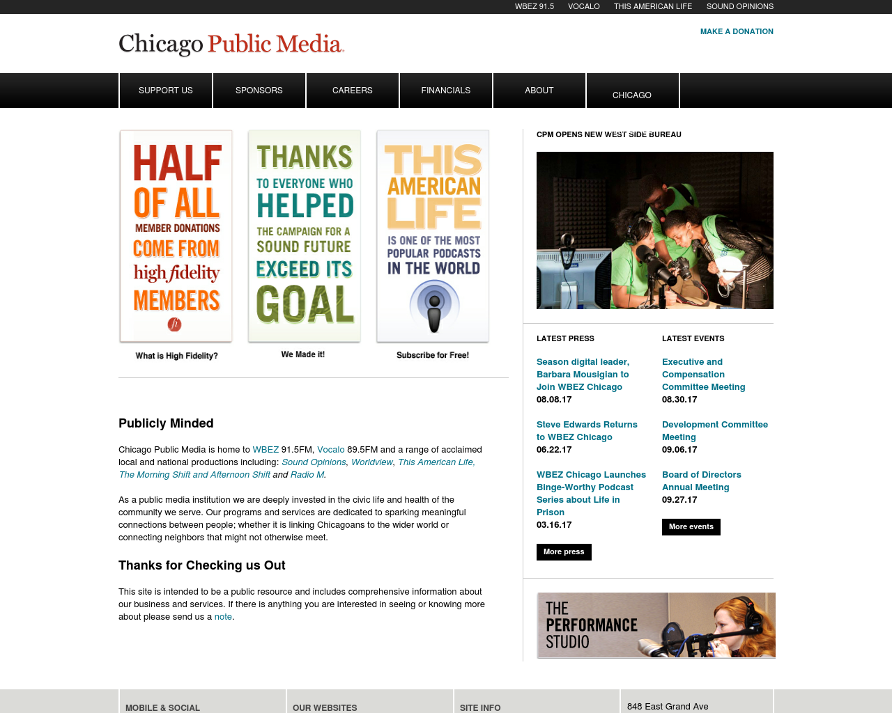WBEZ-91.5-Advertising-Reviews-Pricing