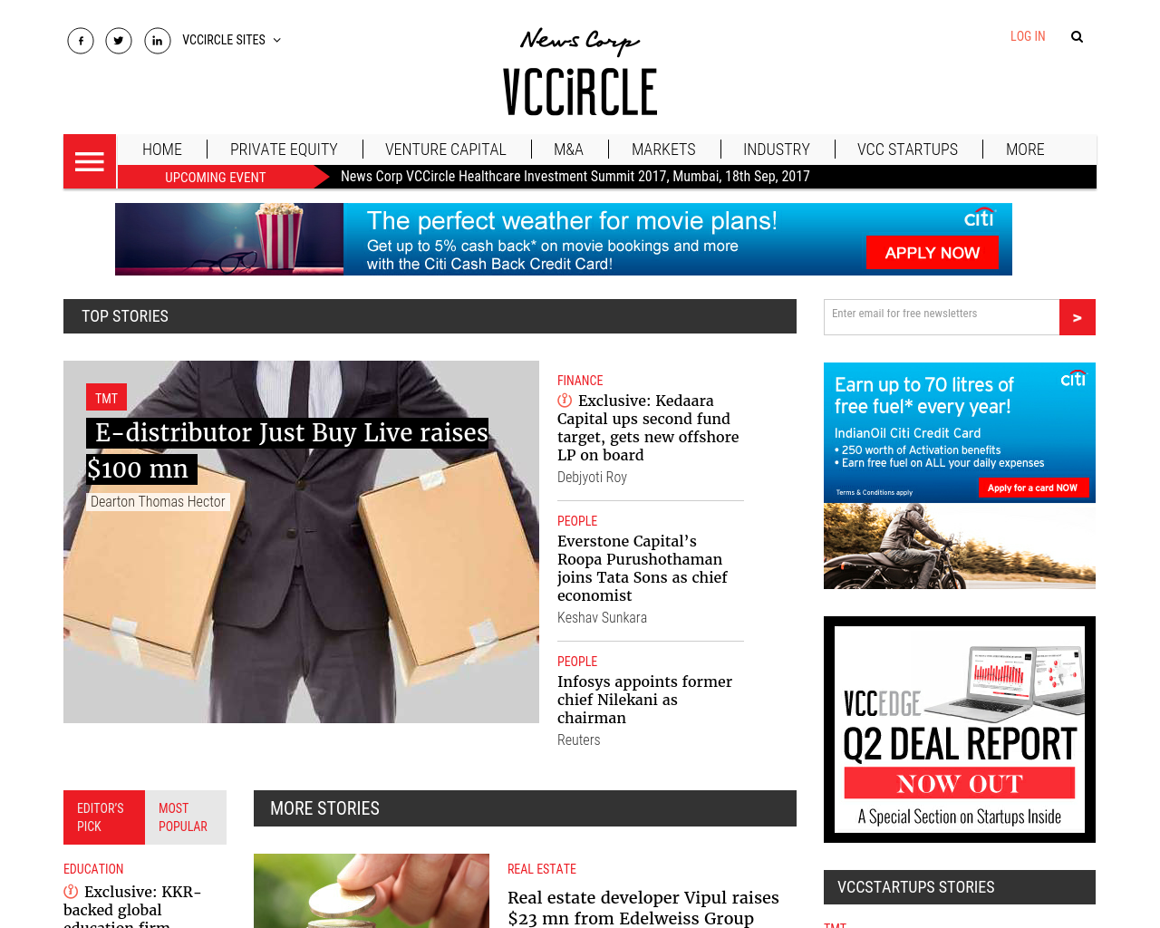 VCCircle-Advertising-Reviews-Pricing