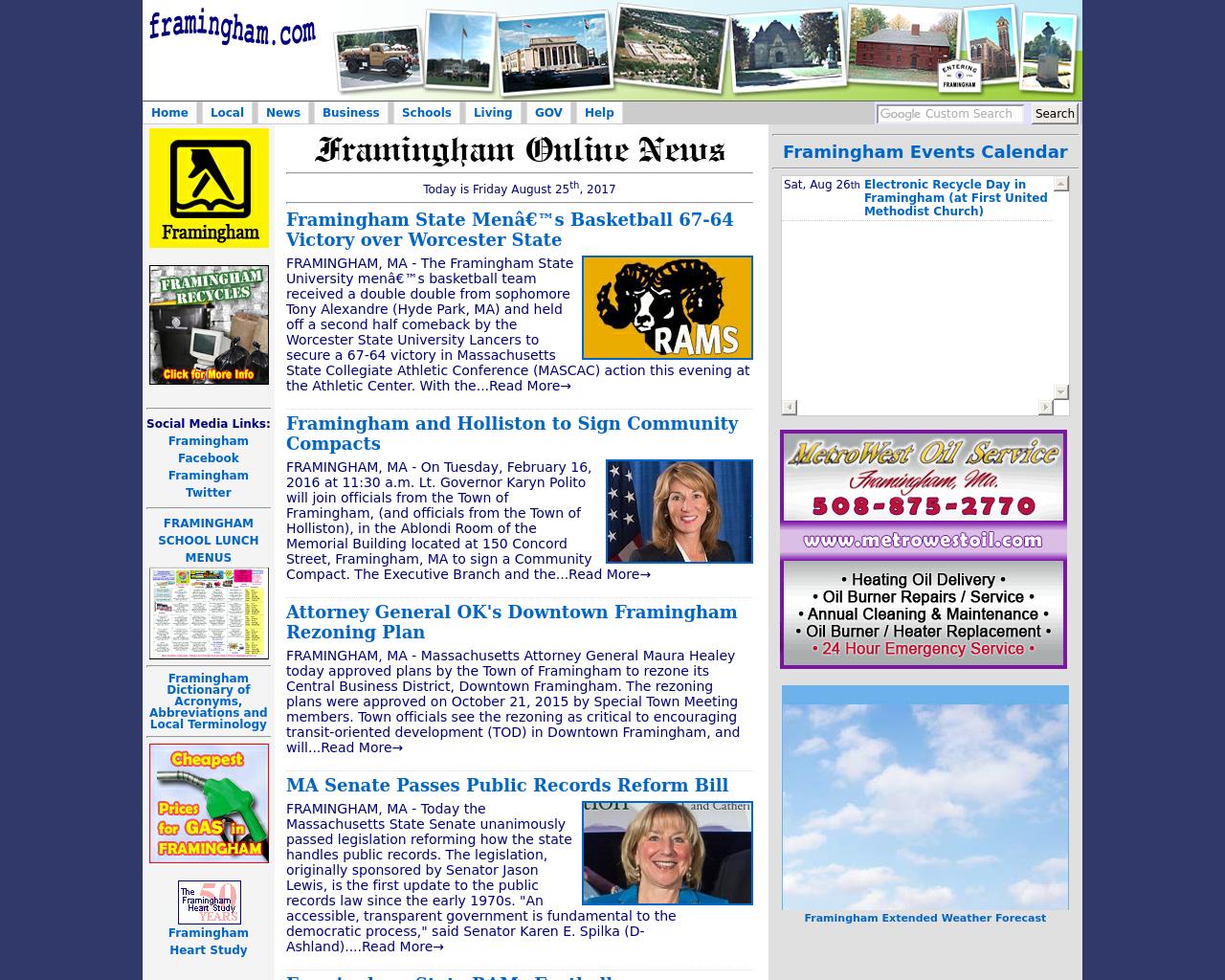 framingham.com-Advertising-Reviews-Pricing