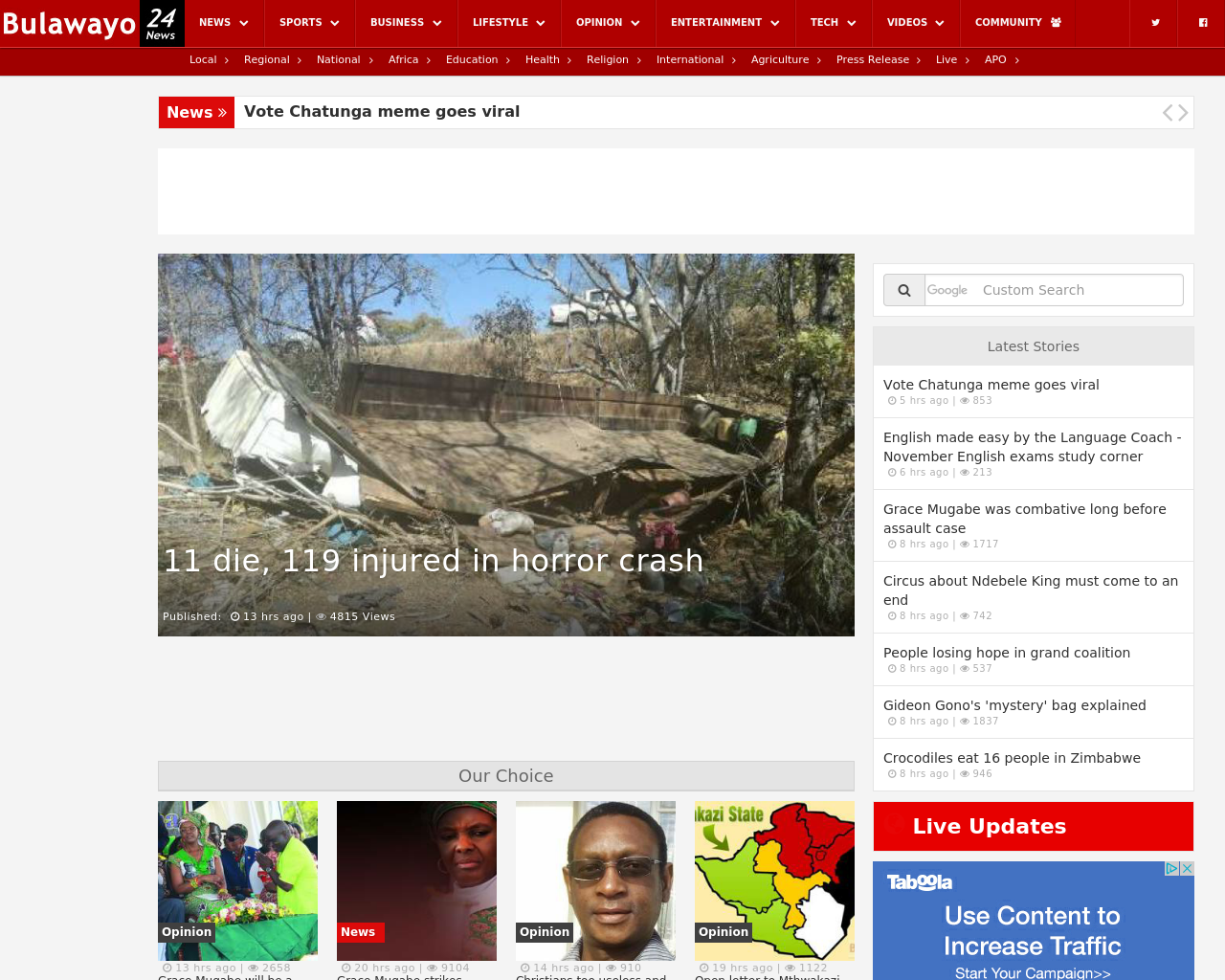 Bulawayo24-News-Advertising-Reviews-Pricing