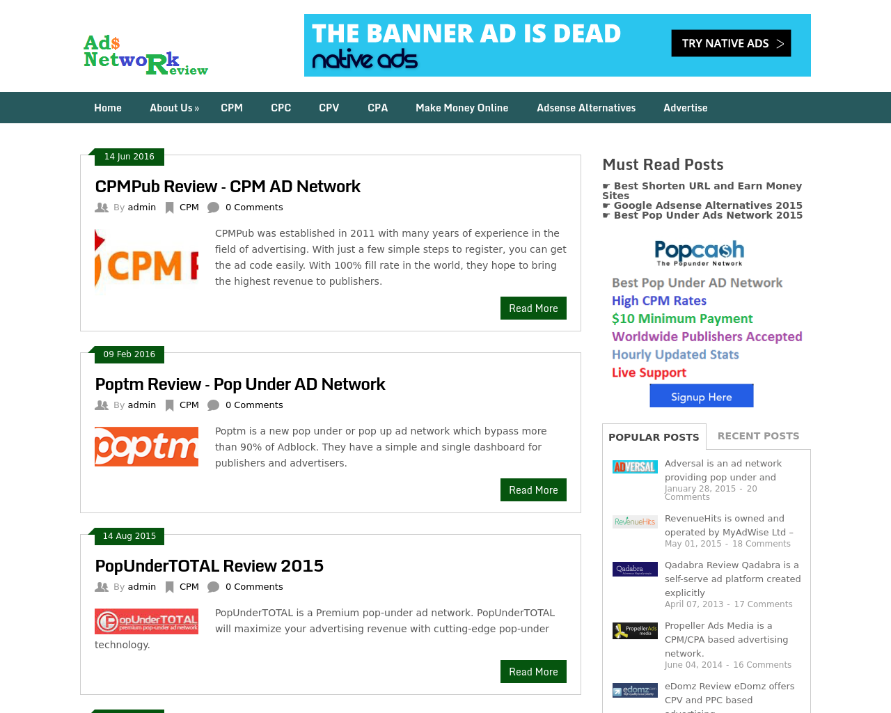 Ads-Network-Review-Advertising-Reviews-Pricing